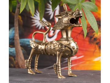Hundefigur - Wächter gegen negative Energien 20 cm