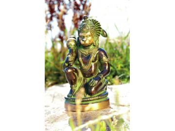 Hanuman Figur - der heilige Krieger 13 cm