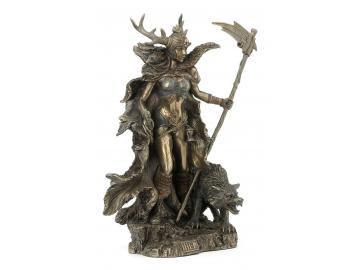 Hel - Die Göttin der Unterwelt Figur aus Polyresin